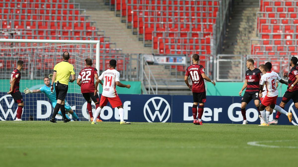 Das Leipziger 1:0 in Nürnberg