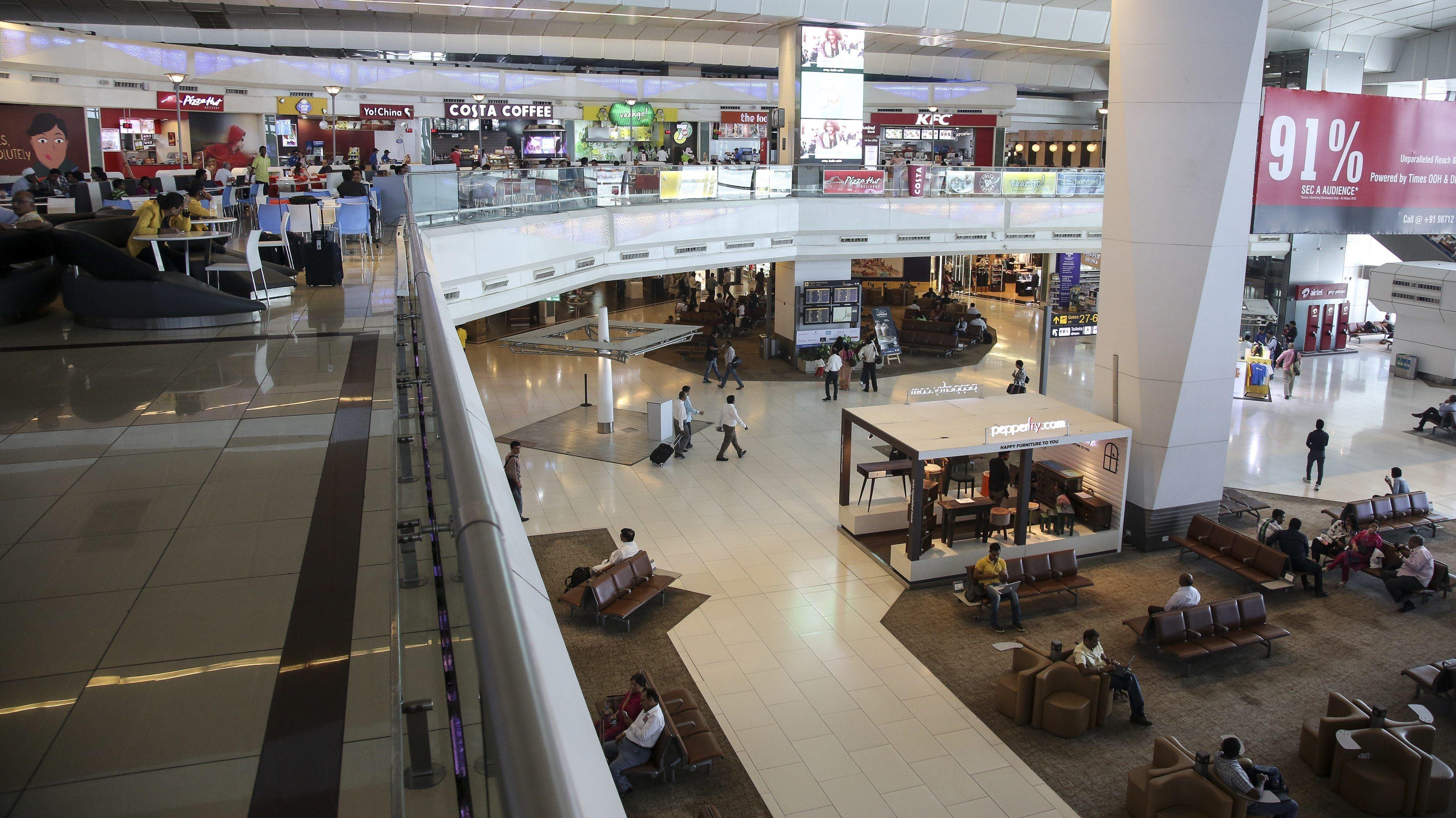 Flughafen Neu Delhi