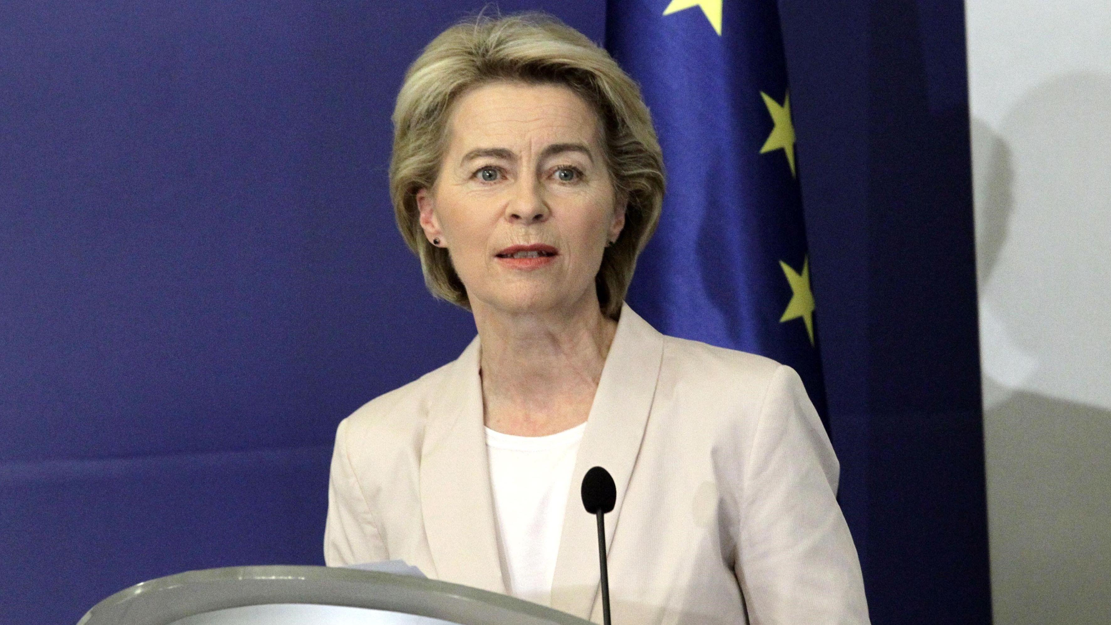 EU-Kommissions-Präsidentin Ursula von der Leyen