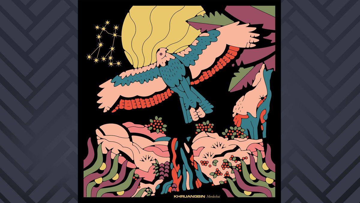 """Da Cover des Album """"Mordechai"""" der Band Khruangbin zeigt einen gezeichneten Adler."""