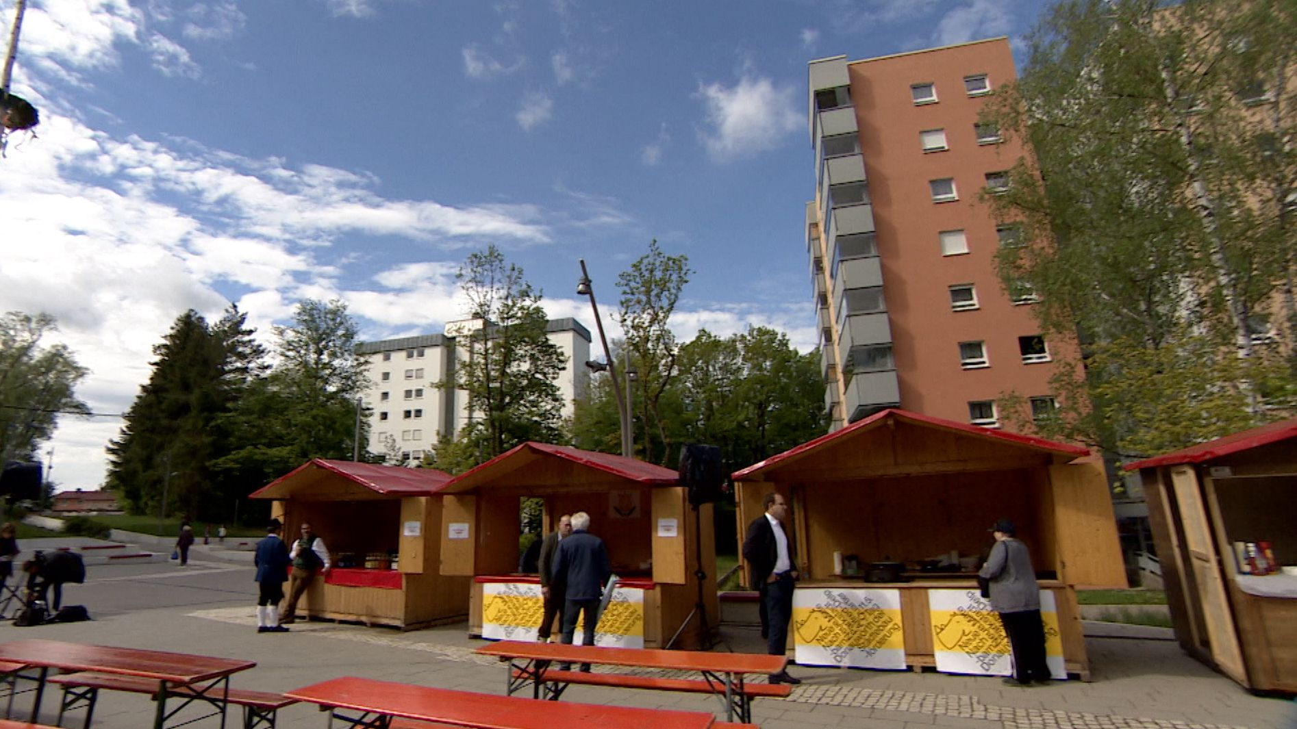 Tag der Städtebauförderung - Politprominenz in Donauwörth