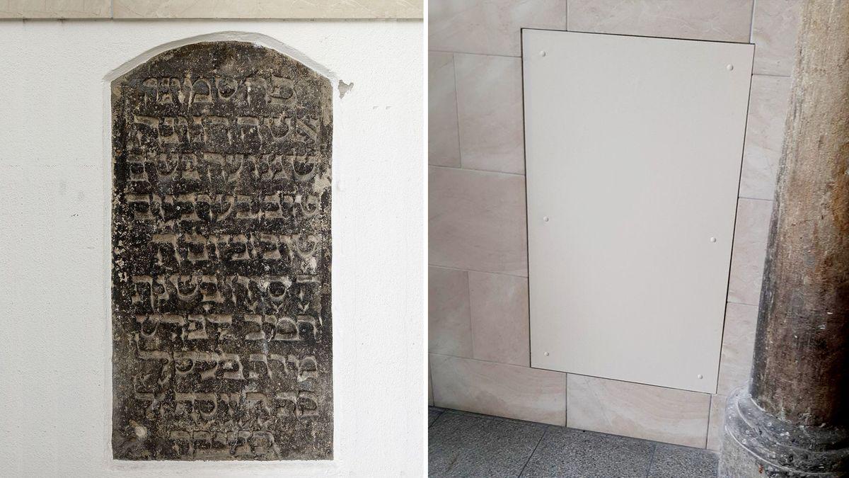 Jüdisches Grabmal in Regensburg