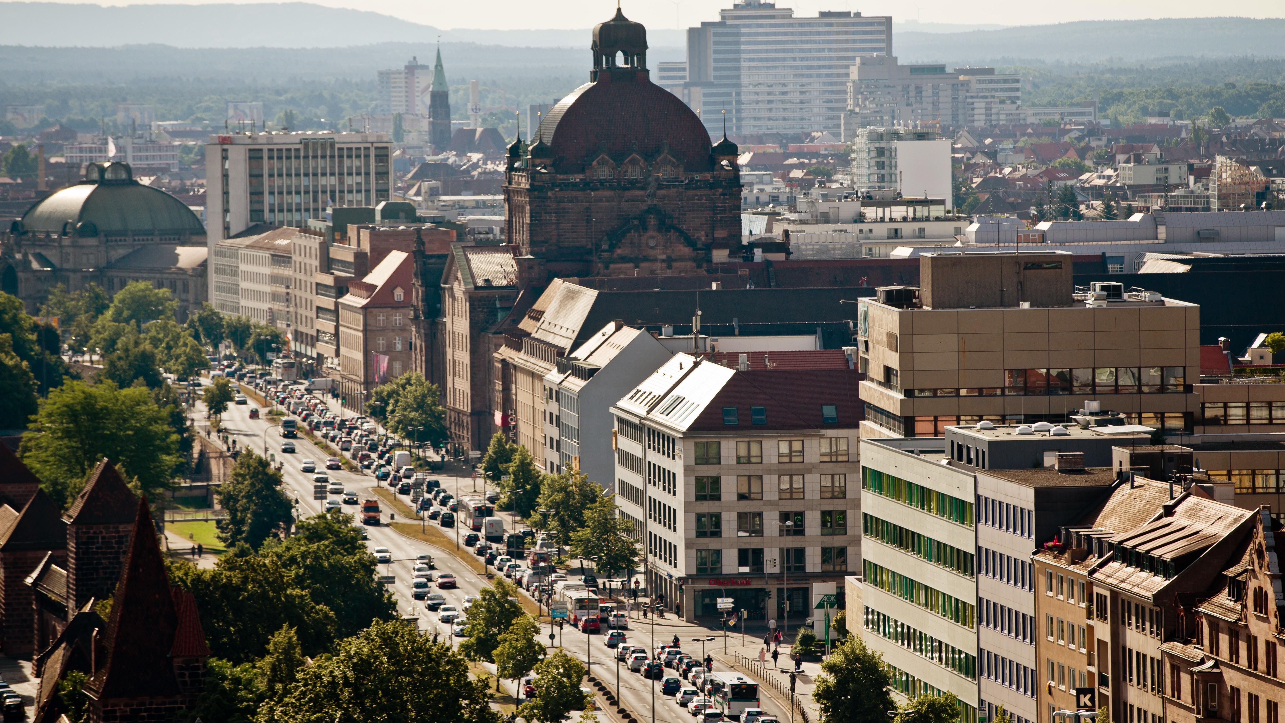 Dicke Luft im Verkehrsring um Nürnberg