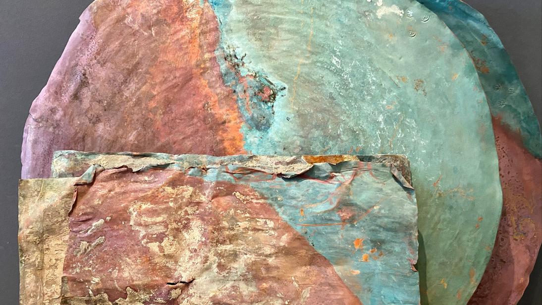 Kupferplatten aus Fugger-Zeit.