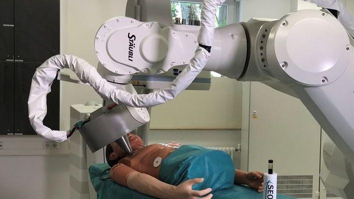Magnet-Roboter am Uni-Klinikum Erlangen