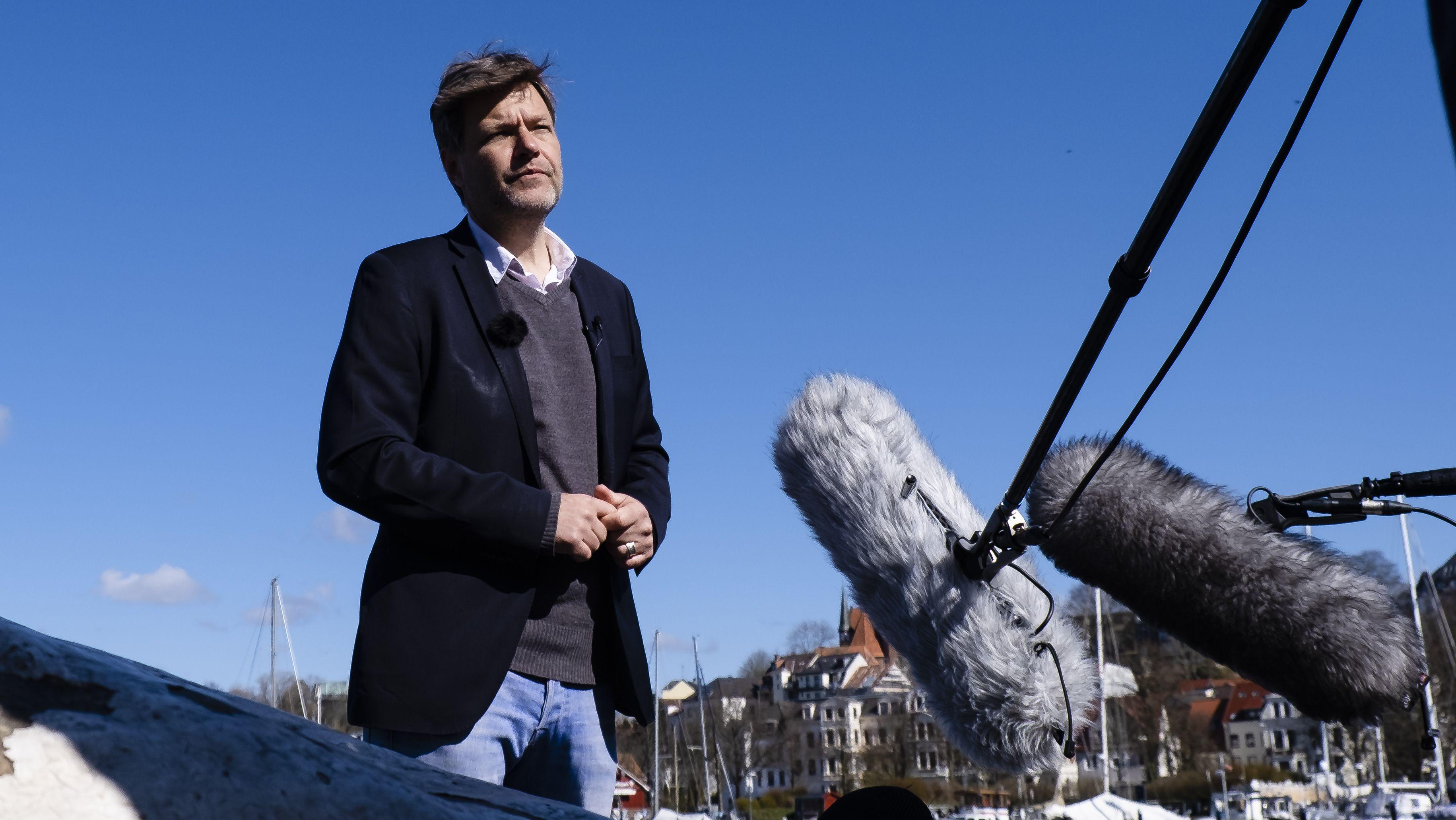 Grünen-Parteichef Robert Habeck