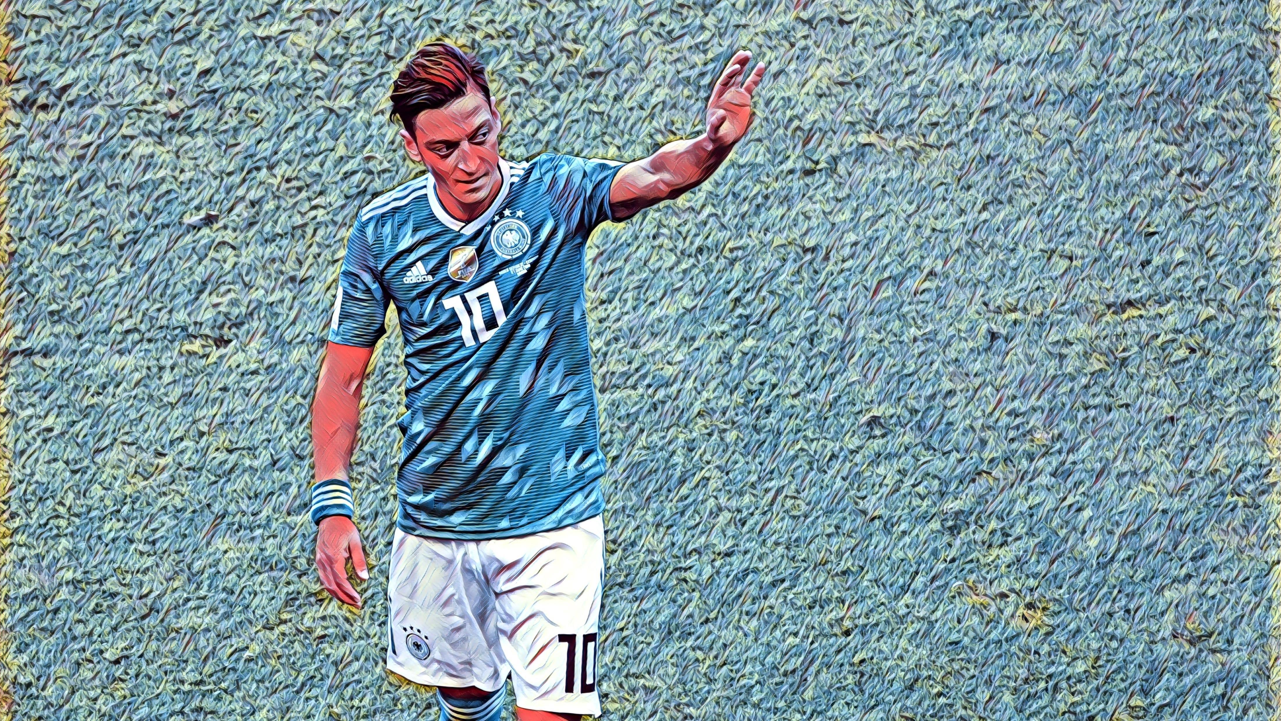 Verließ die deutsche Nationalmannschaft mit Rassismus-Vorwürfen: Mesut Özil beim Spiel gegen Südkorea während der WM in Russland 2018.
