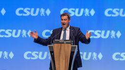 CSU-Chef Markus Söder   Bild:picture alliance/Peter Kneffel/dpa