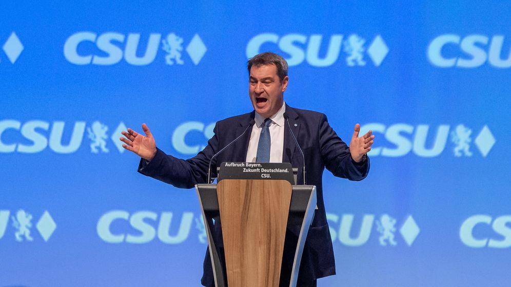 CSU-Chef Markus Söder | Bild:picture alliance/Peter Kneffel/dpa