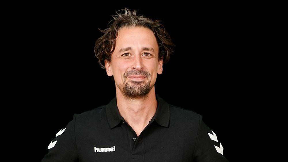 Benedikt Frank, Trainer der 1. Bundesliga-Damenmannschaft Nawaro Straubing