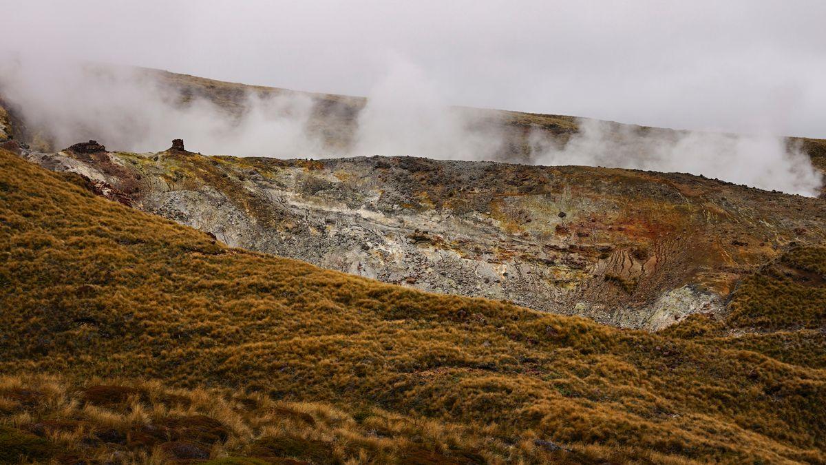"""Landschaft in Neuseeland, Drehort für """"Herr der Ringe"""""""