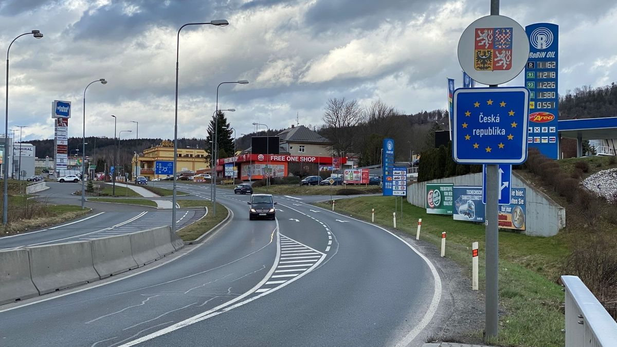 Bild von tschechischer Grenze