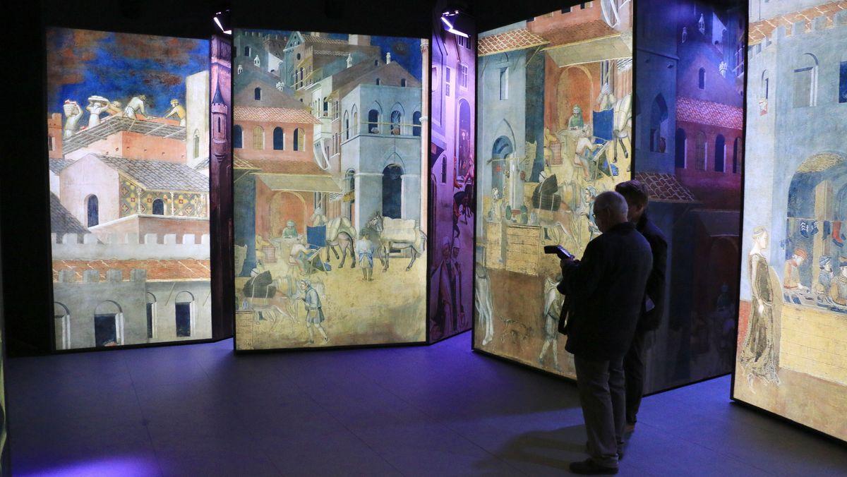 Farbenfrohe Bilder aus dem Mittelalter
