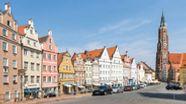 Die Altstadt von Landshut | Bild:BR/Lisa Hinderer