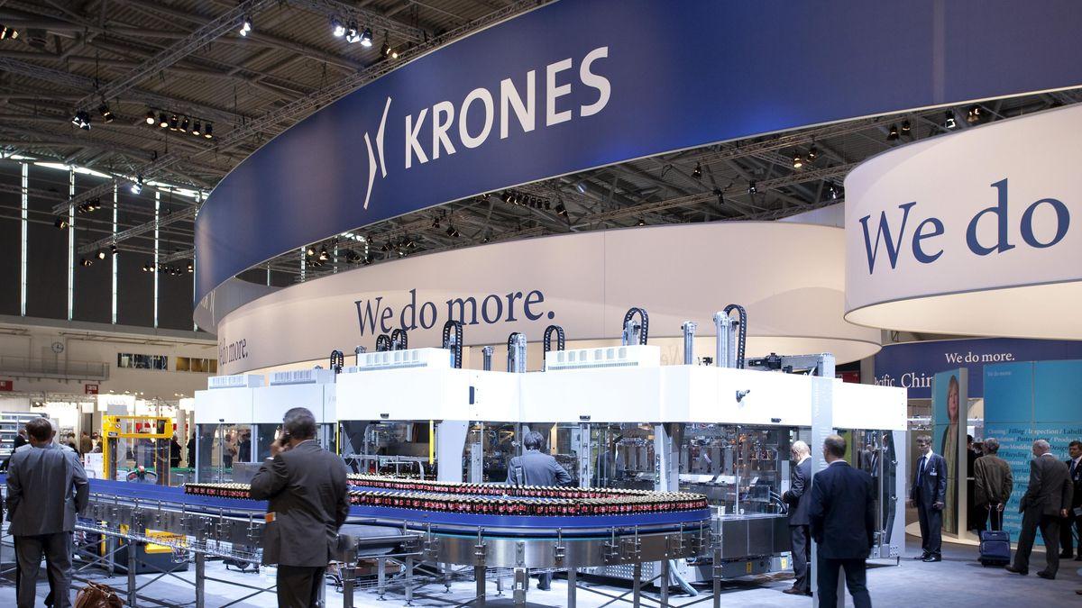 Abfüll- und Verpackungsanlagenhersteller Krones