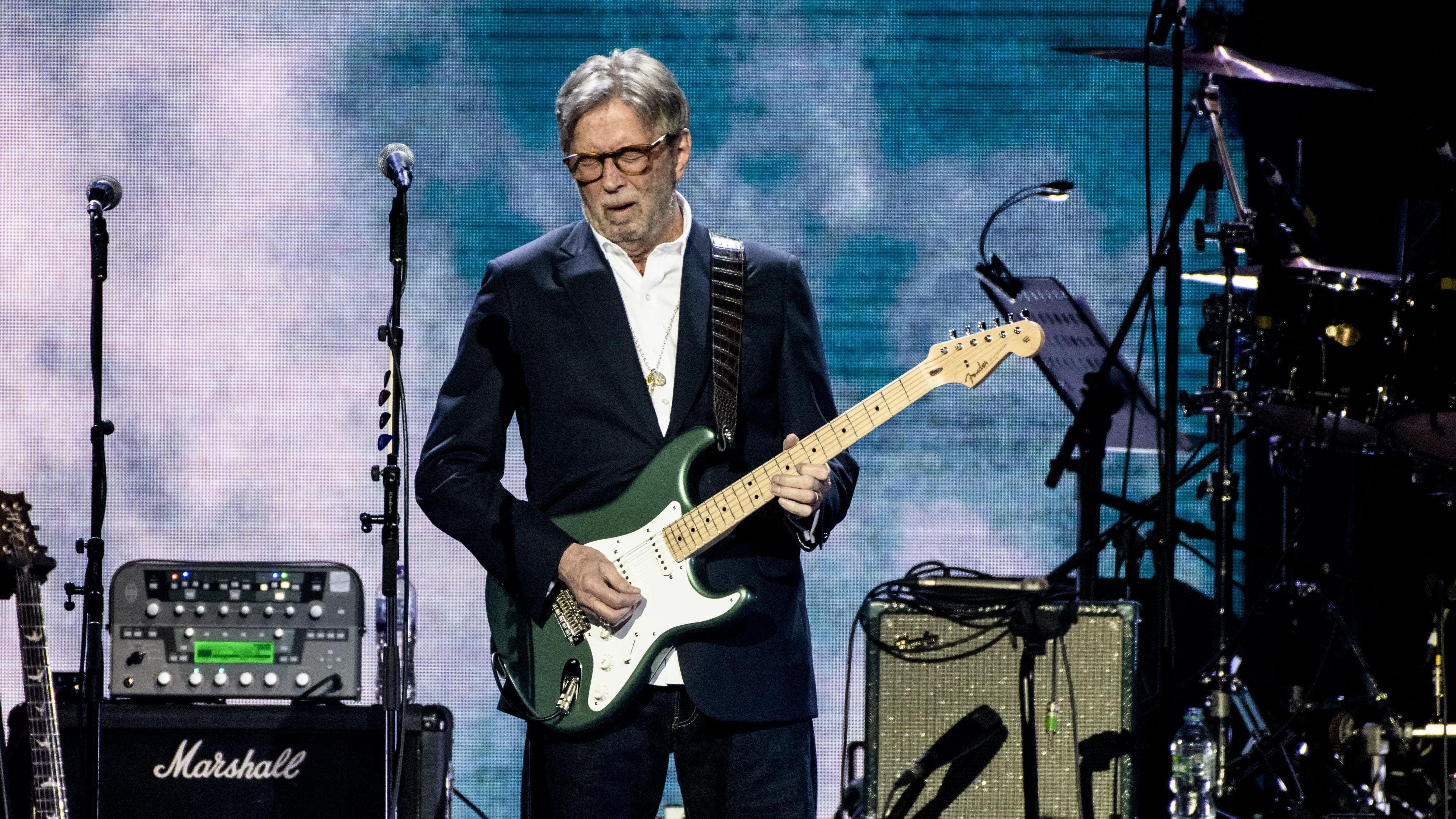 Eric Clapton bei einem Live-Auftritt