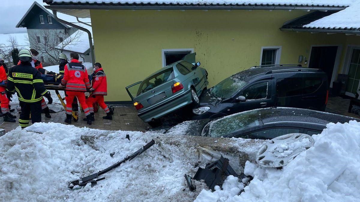 Die Unfallstelle in Kaikenried
