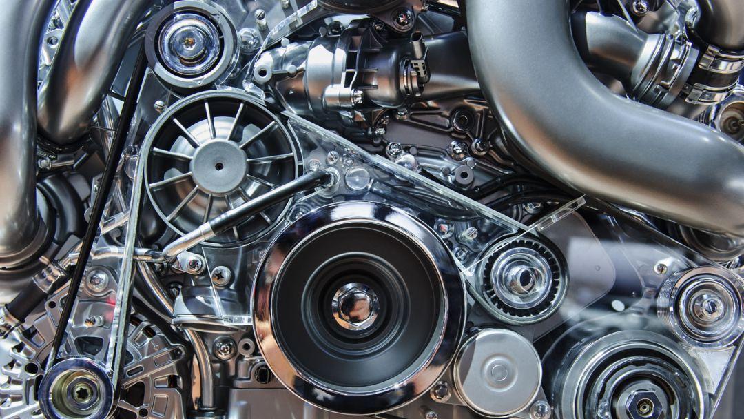 Ein Automotor von innen