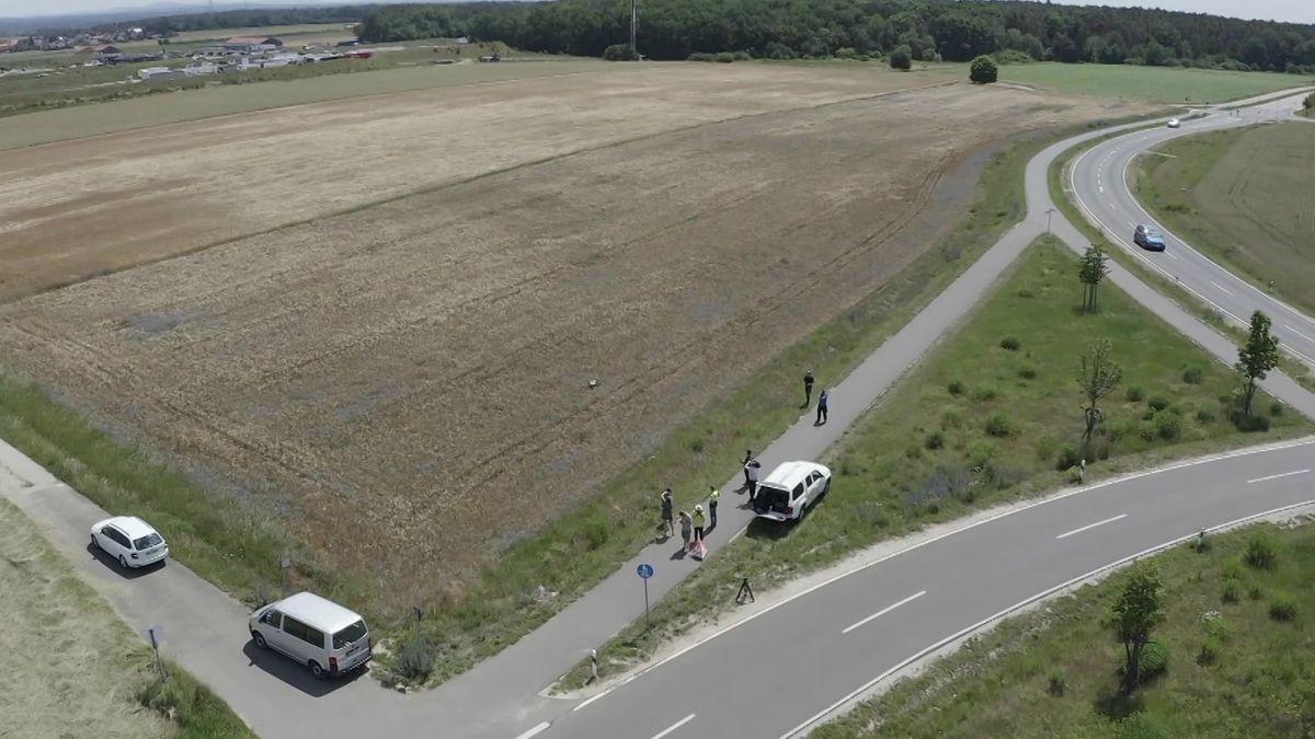 Eine Spezial-Drohne vermisst mit einem Laserscanner die Strecke auf der einmal die Stadt-Umland-Bahn fahren soll.