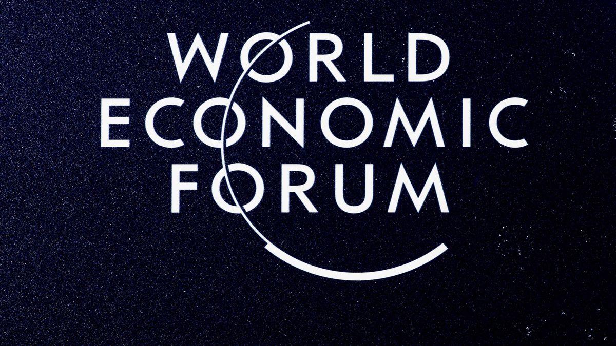 Logo des Weltwirtschaftsforums in Davos
