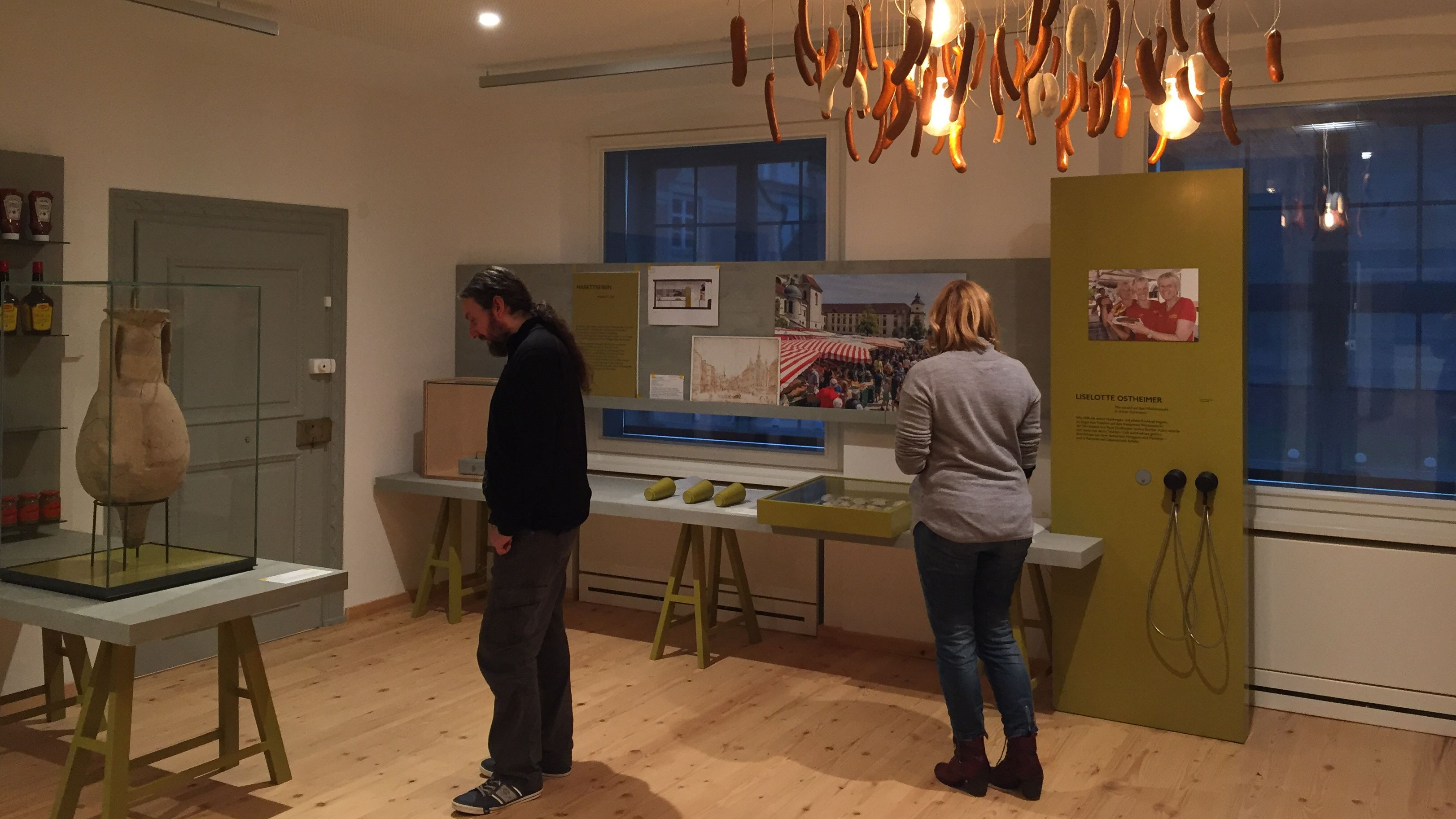 Besucher des Stadtmuseums in Kempten