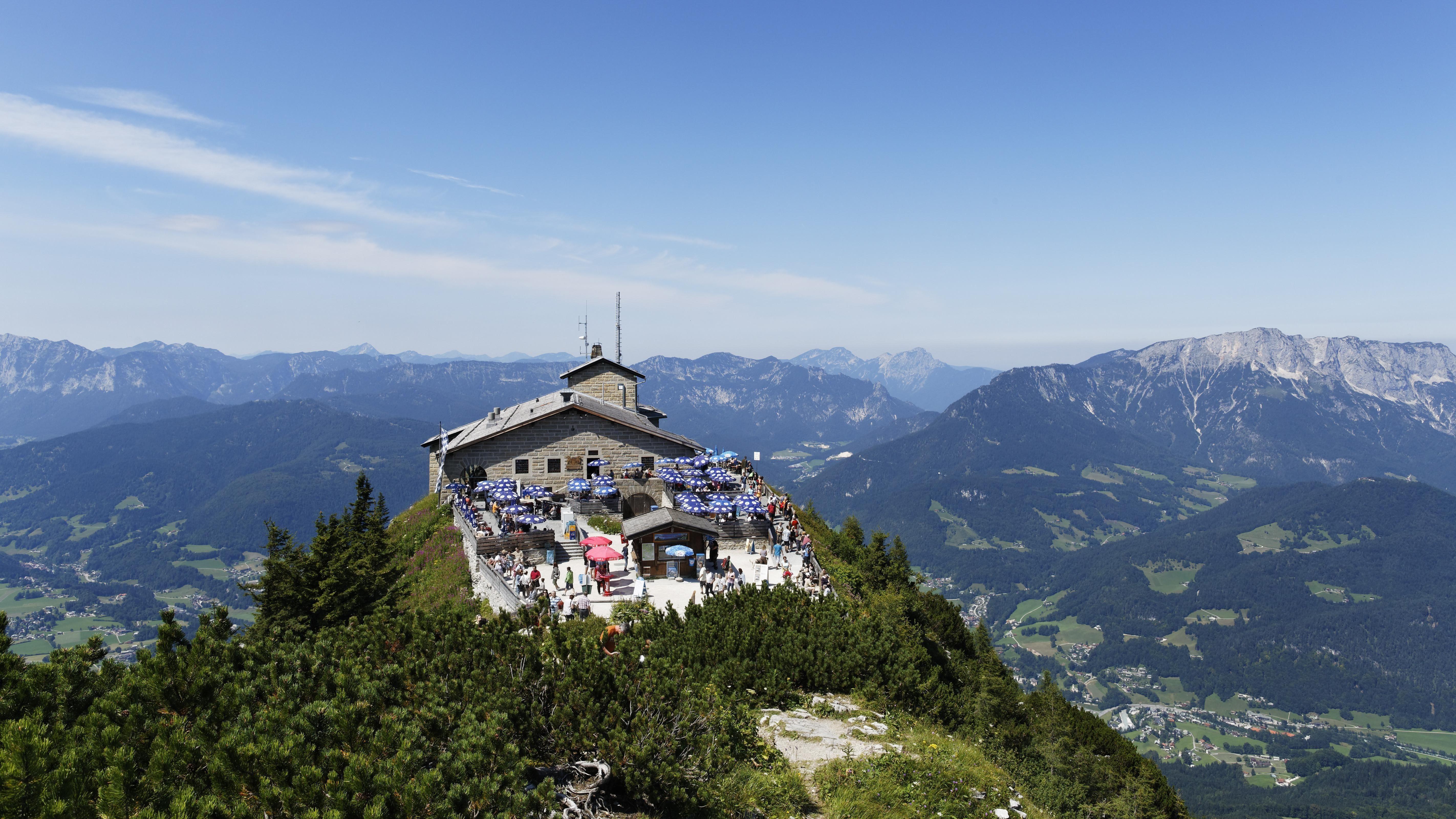 Blick auf Kehlsteinhaus