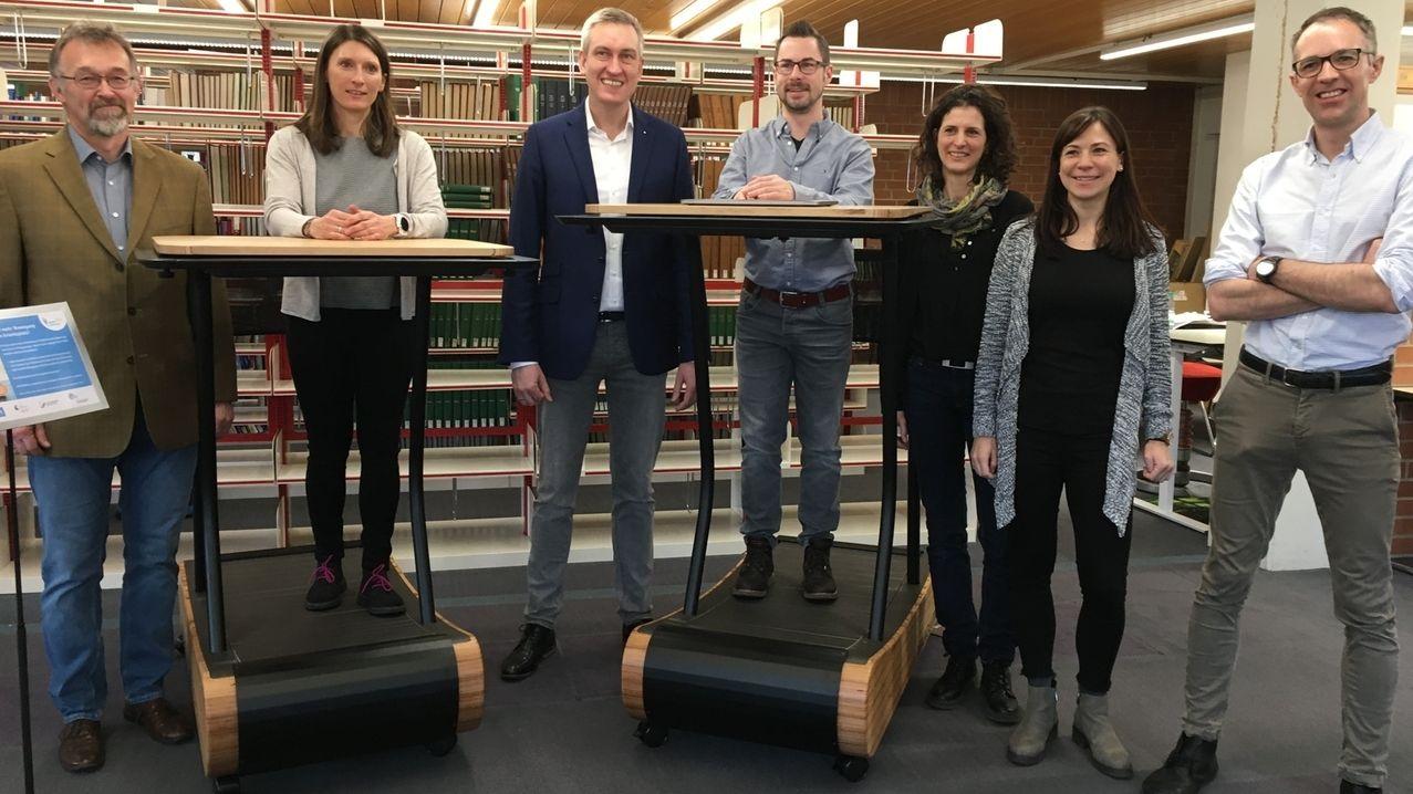 Laufbänder an der Uni Bayreuth