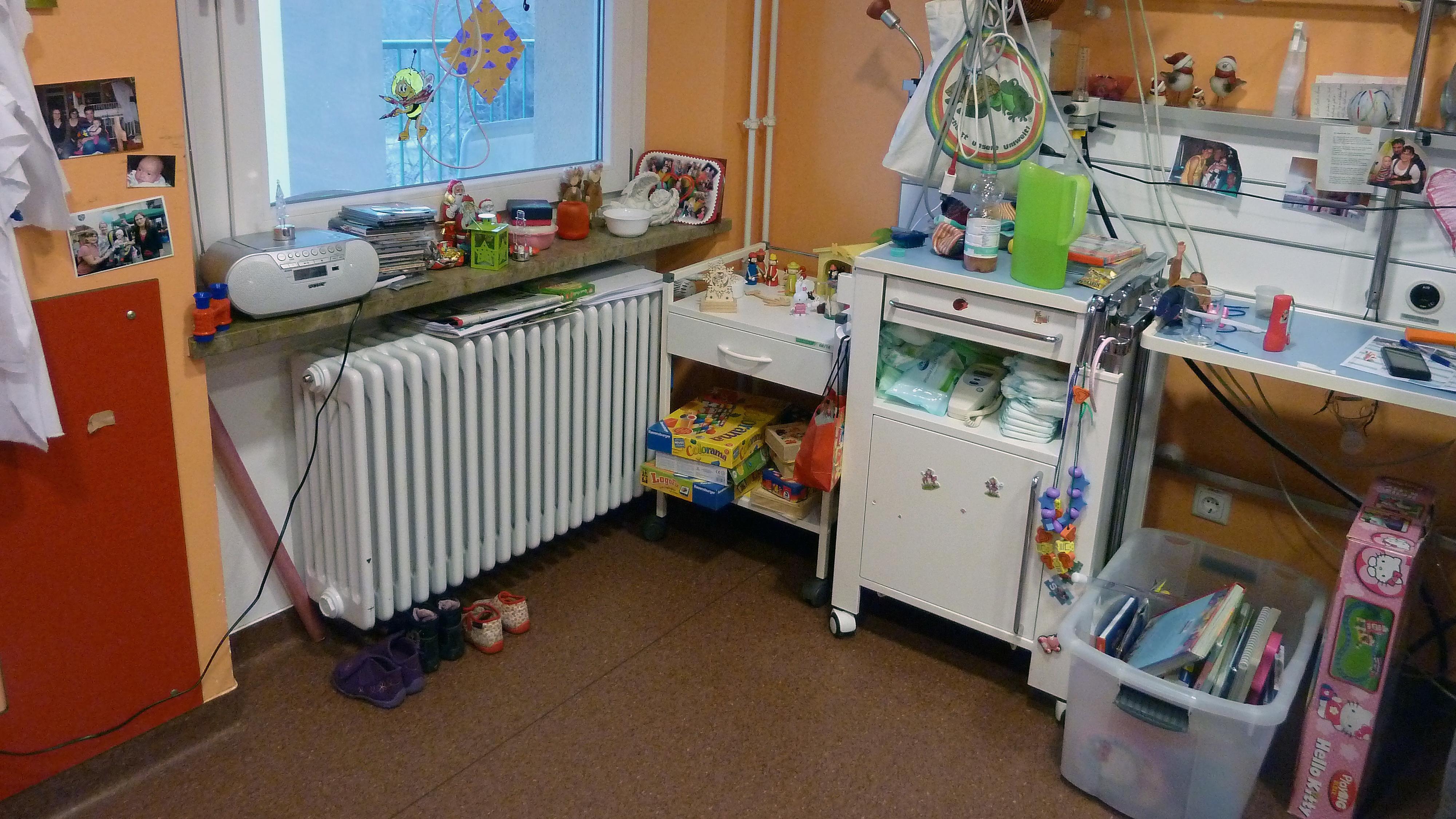Kinder-Krankenzimmer