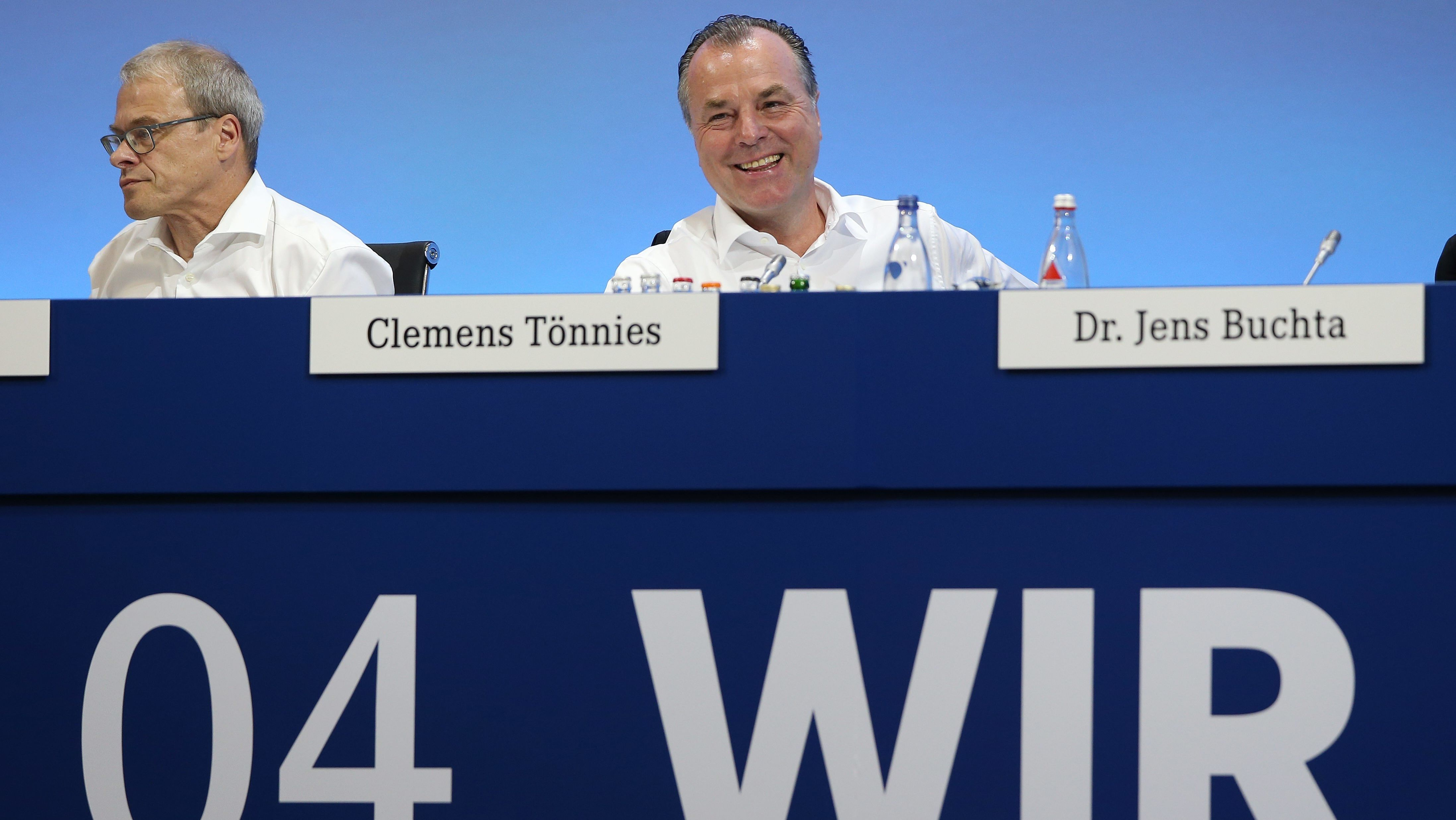 Clemens TÖNNIES,Vorsitzender des Aufsichtsrates FC Schalke 04
