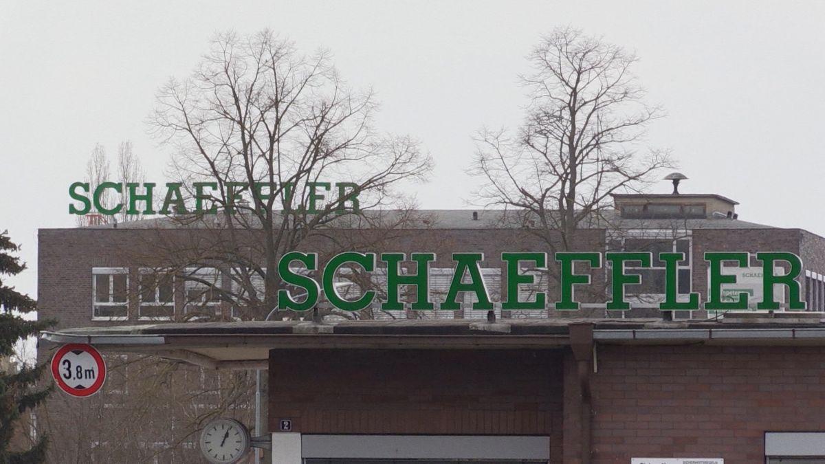 Das Schaeffler-Werk in Eltmann.