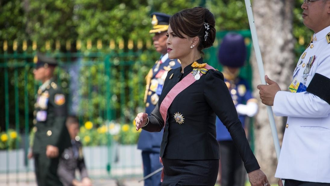 Prinzessin Ubolratana im Oktober 2017.