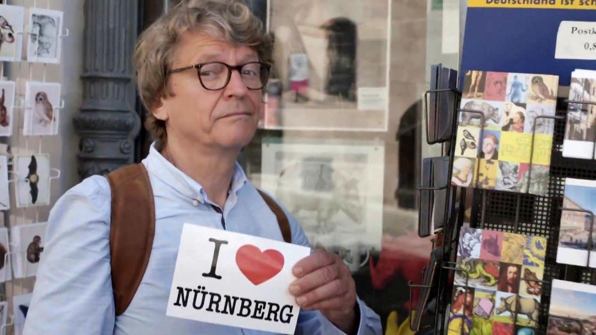 Abseits der Touristenklischees will Kabarettist Frank-Markus Barwasser Nürnberg kennenlernen.