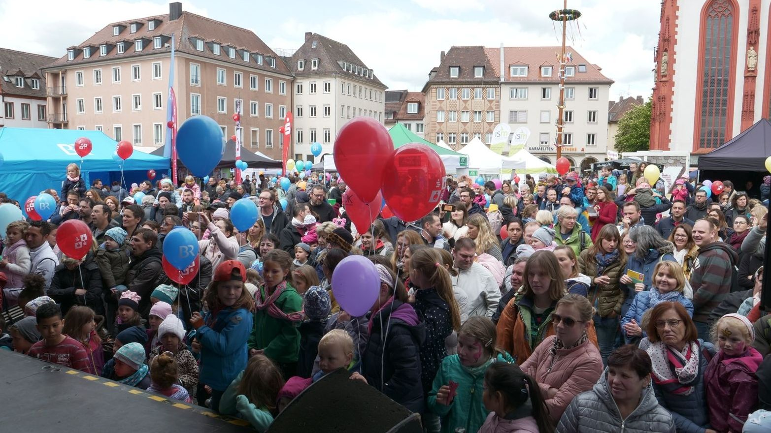 Internationales Kinderfest in Würzburg