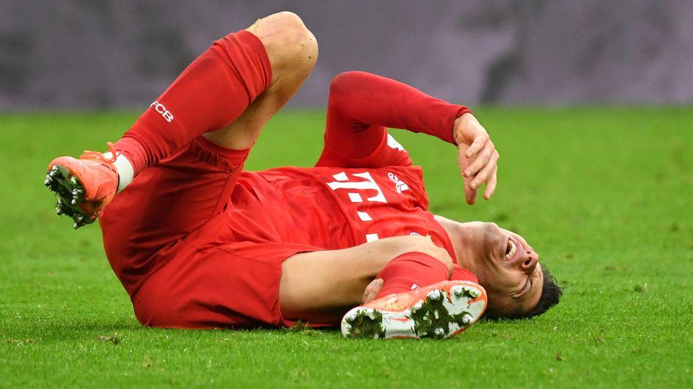 Robert Lewandowski vom FC Bayern  | Bild:picture alliance/dpa
