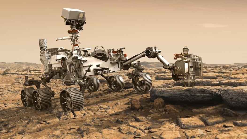 """Start des """"Perseverance""""-Rover zum Mars"""