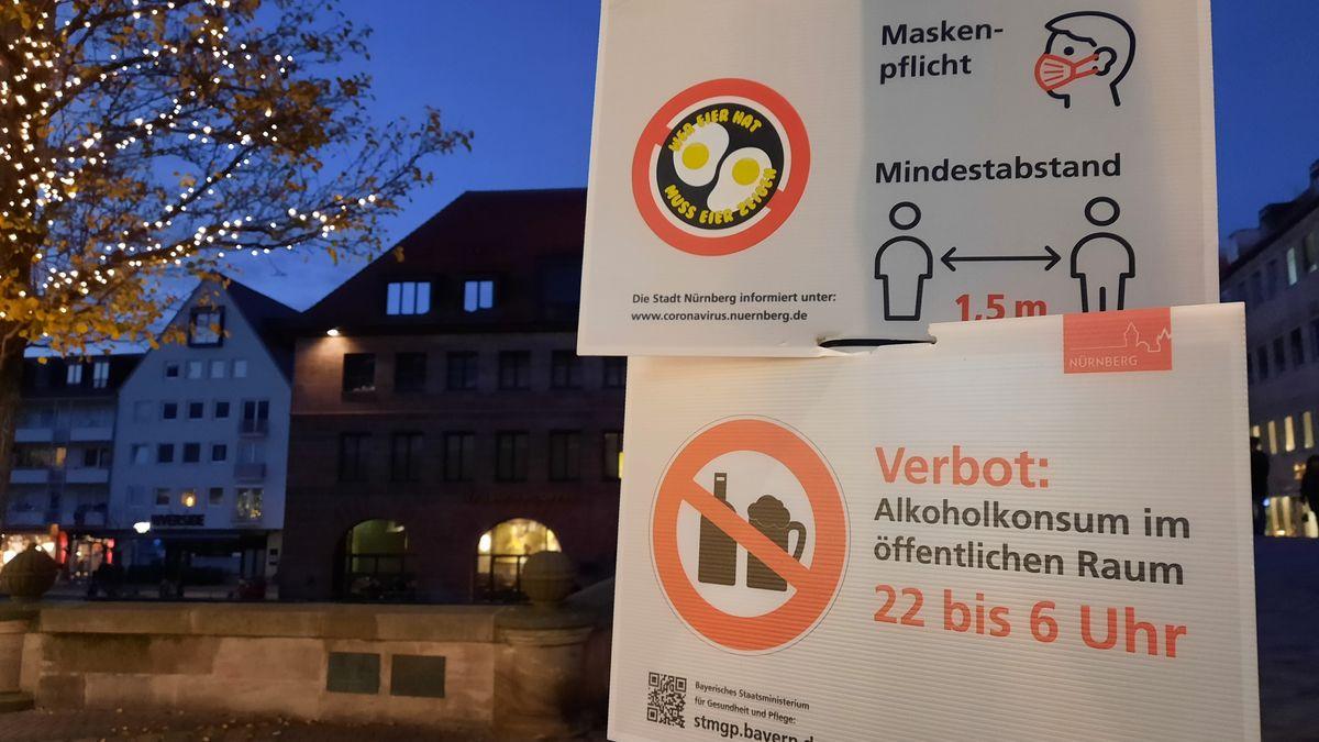 Die Stadt Nürnberg berät über weitere Einschränkungen aufgrund des deutlich gestiegenen Corona-Inzidenzwertes.