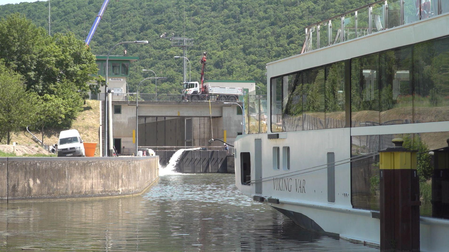 Main-Donau-Kanal gesperrt