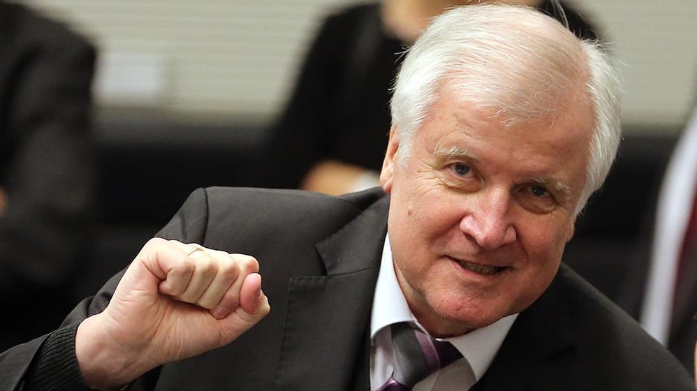 CSU-Chef Horst Seehofer | Bild:dpa-Bildfunk