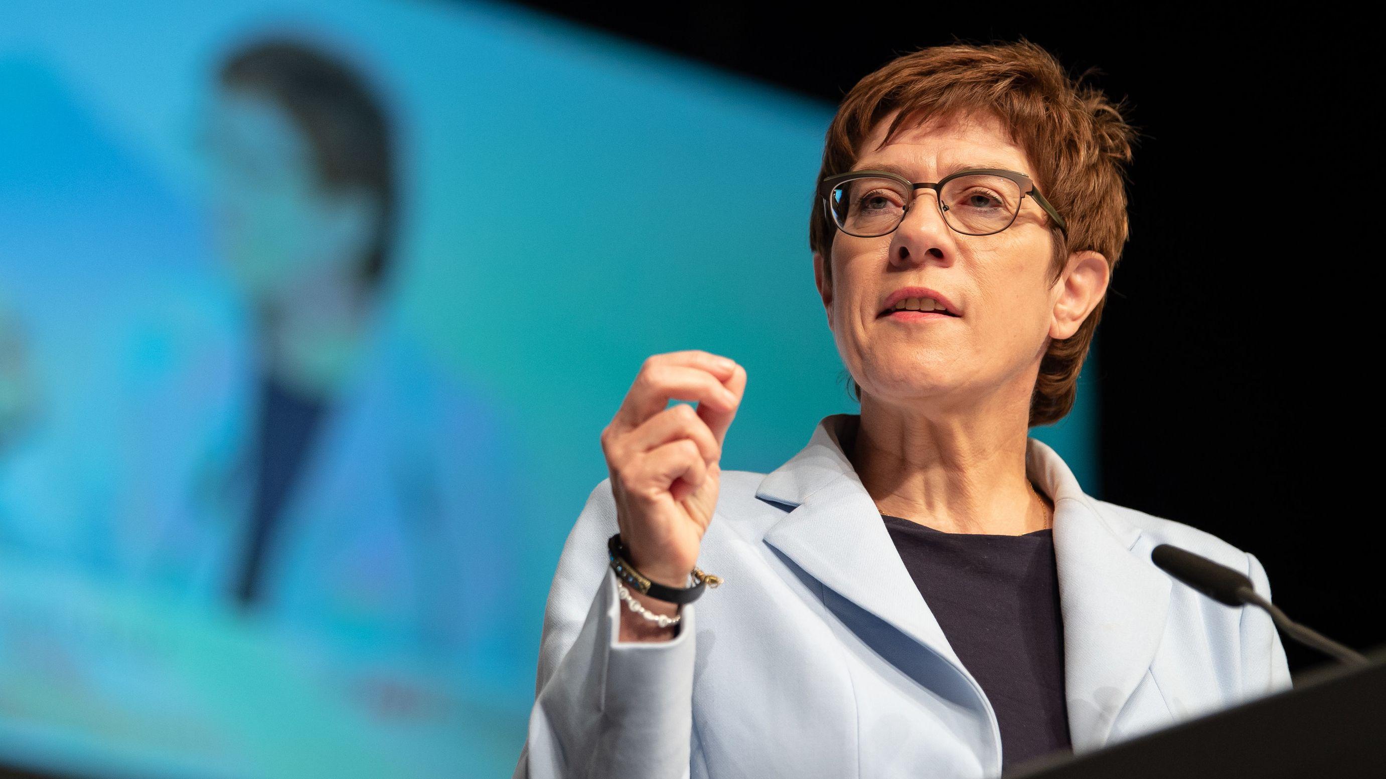 Annegret Kramp-Karrenbauer, CDU-Vorsitzende (Archivbild)