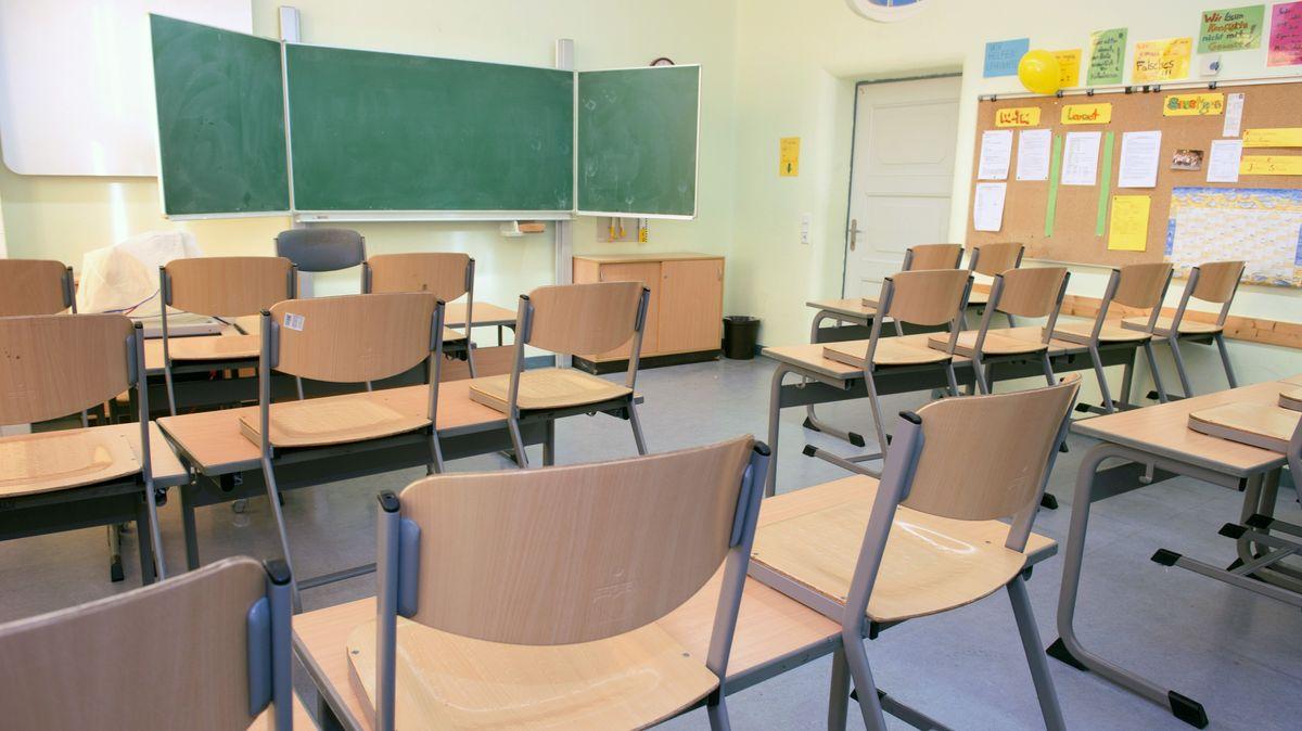 Leeres Klassenzimmer (Symbolbild)