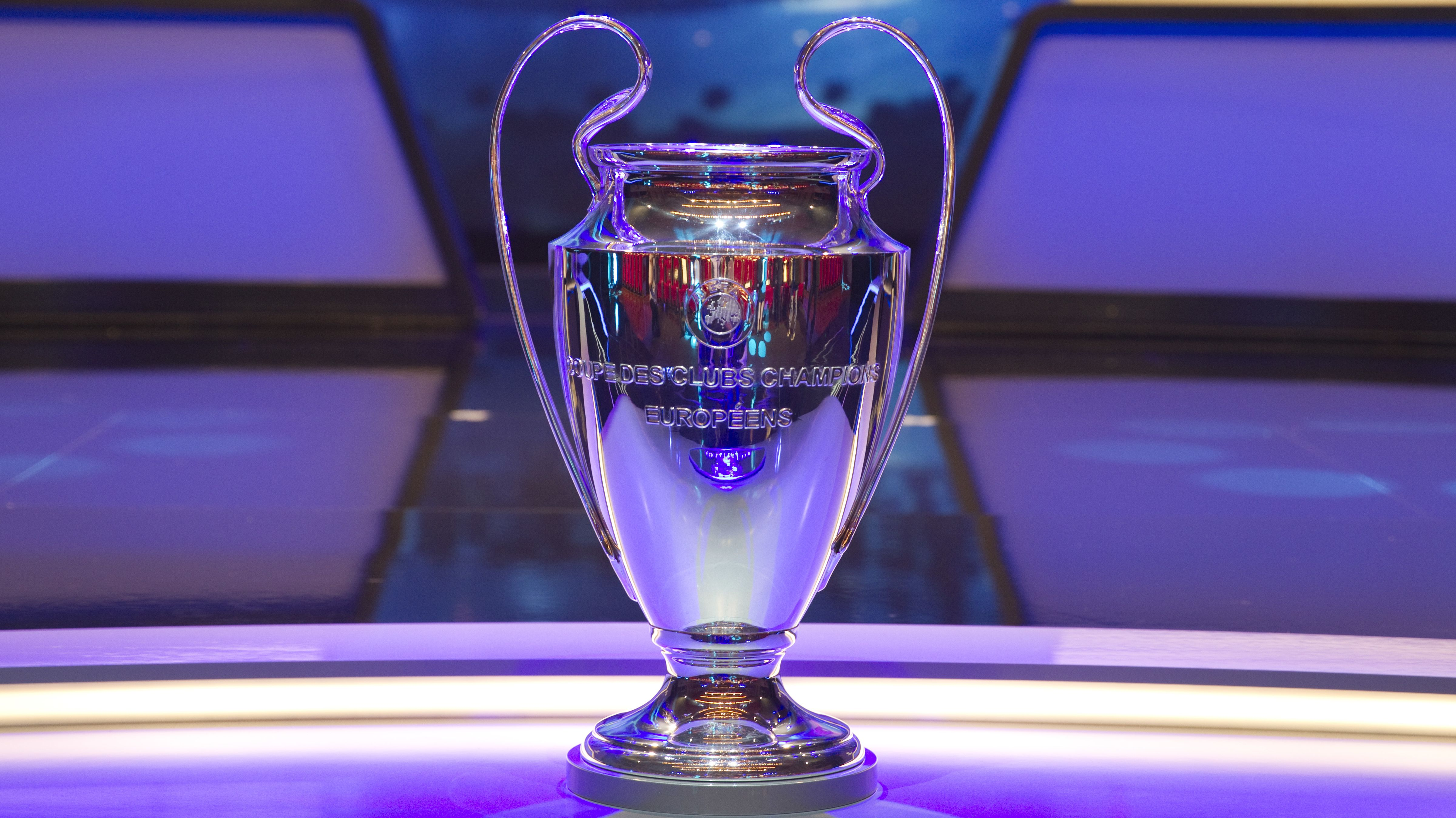 Der Champions-League-Pokal