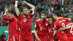 Torjubel beim FC Bayern München | Bild:dpa-Bildfunk/Christian Charisius