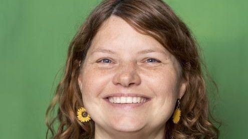 Gudrun Lux, Stadtvorsitzende der Münchner Grünen, die an diesem Dienstag, 17. September zurückgetreten ist. (Archivbild auf der Seite der Grünen)