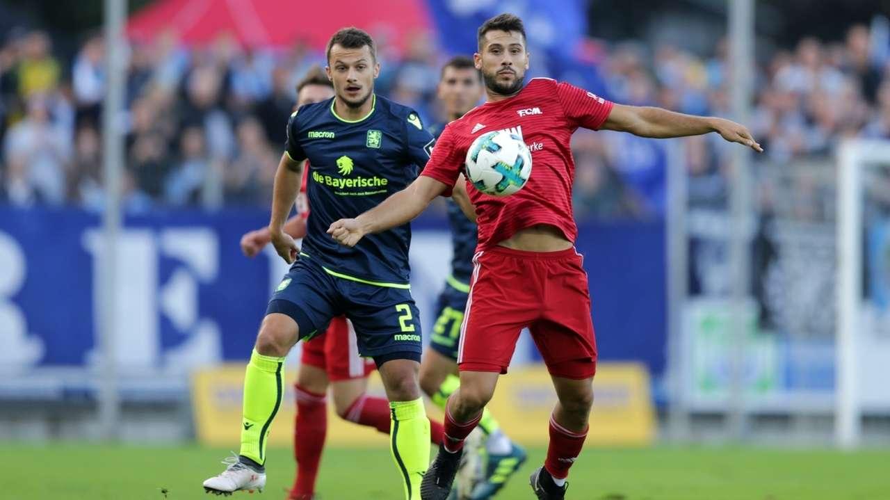 FC Memmingen im Duell mit 1860 München