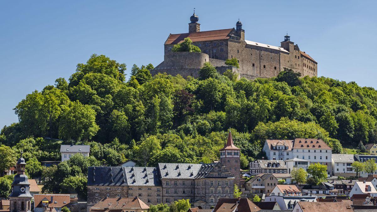 Die Kulmbacher Plassenburg