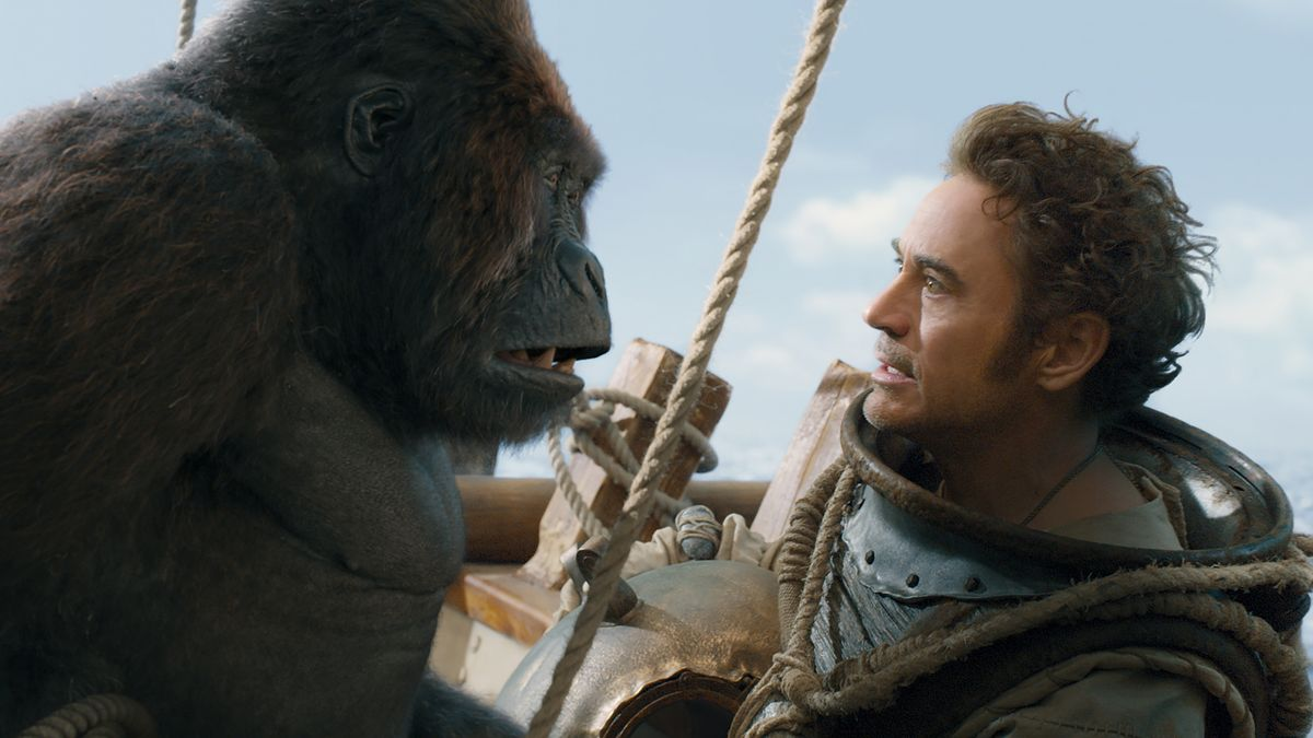 "Mal nicht Iron Man: Robert Downey Jr in ""Die fantastische Reise des Dr. Dolittle"" (FIlmszene)"