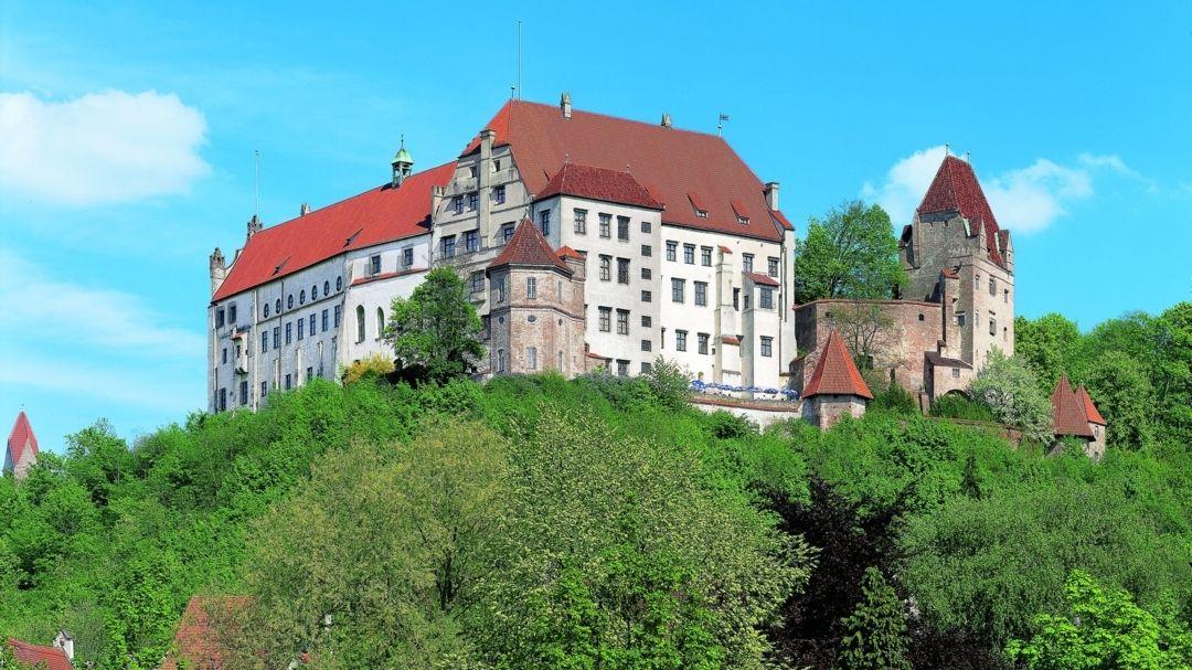 Burg Trausnitz bei Landshut