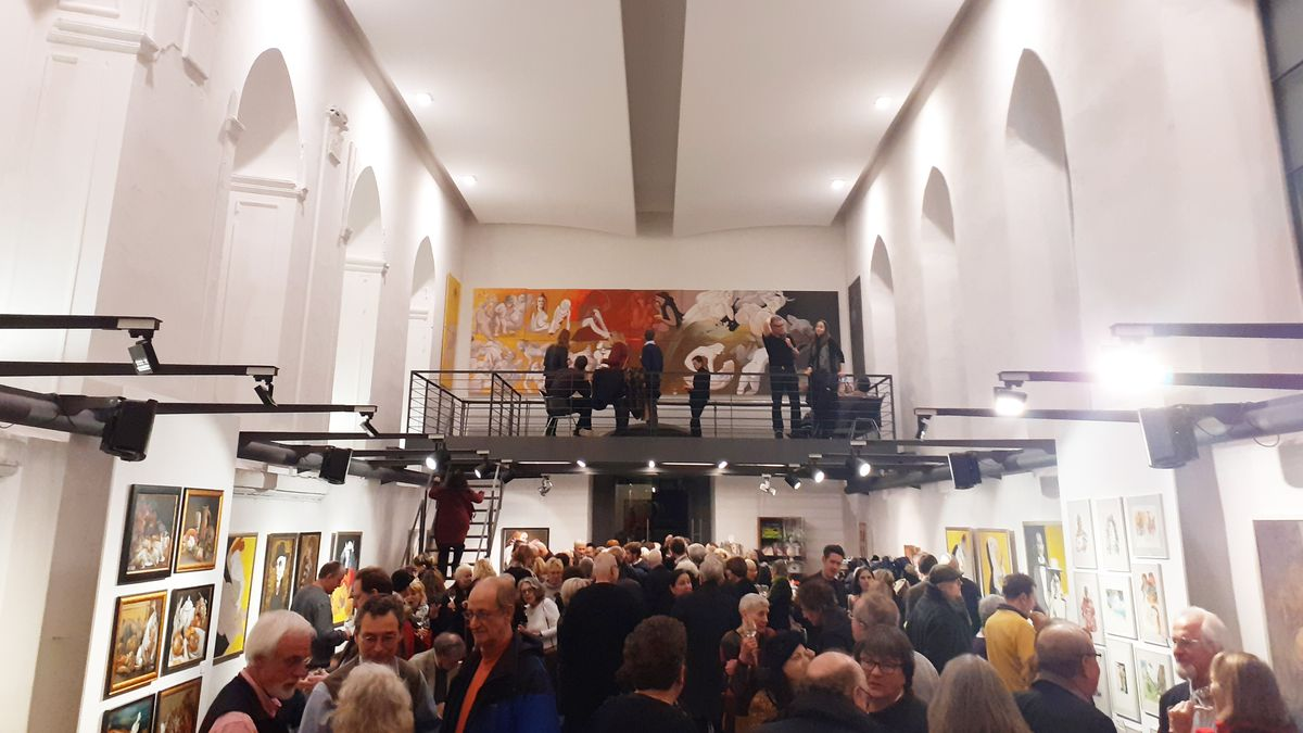 Vernissage Renate Jung im Würzburger Spitäle