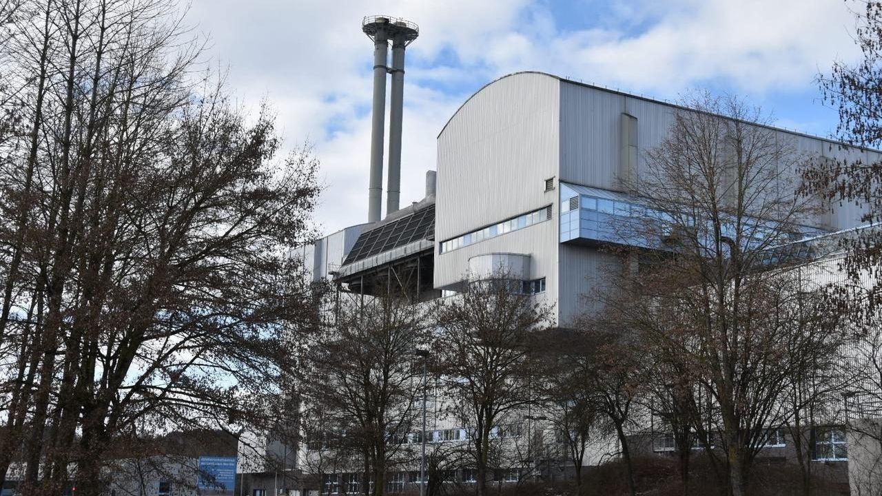 Müllheizkraftwerk in Weißenhorn