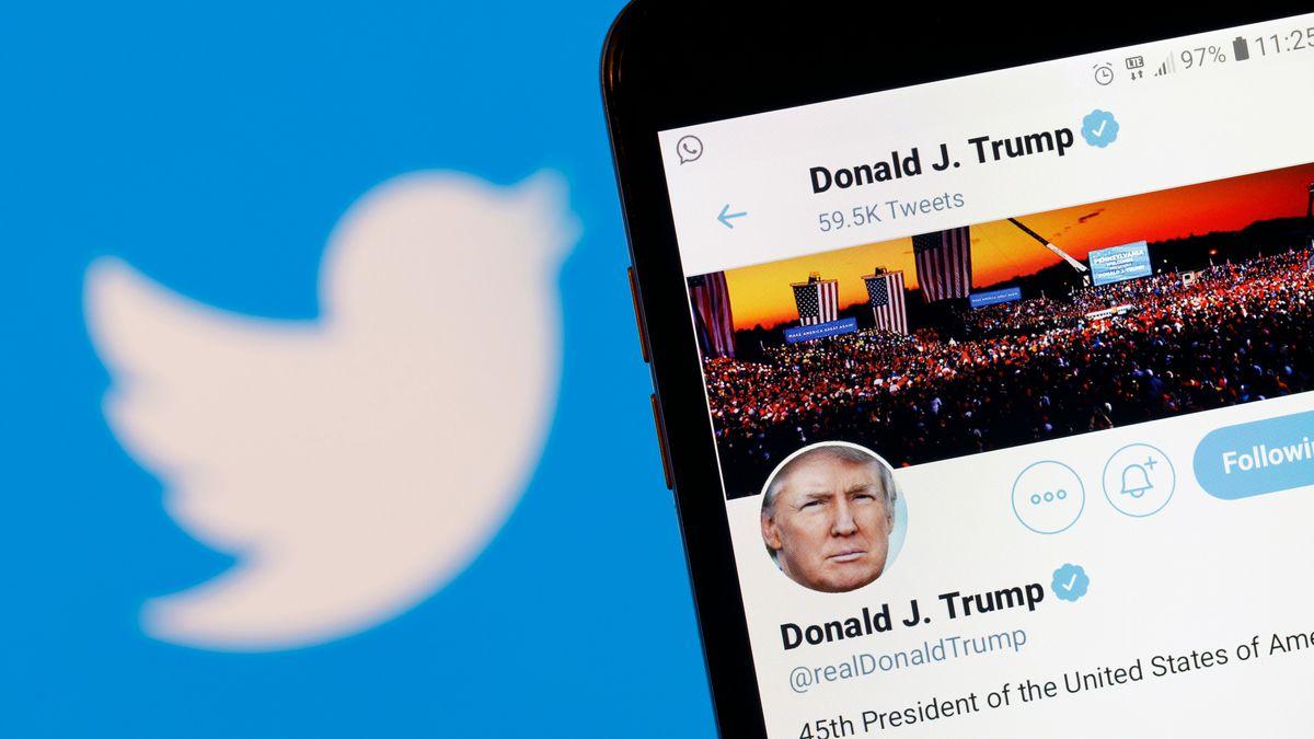 Donald Trumps Auftritt bei Twitter